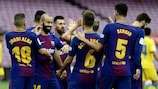 Lionel Messi scored a pair of goals as Barcelona saw off Las Palmas 3-0