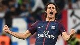 Cavani salva al Paris, Kane y Khedira brillan