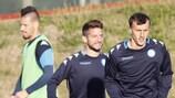 Napoli bei der Vorbereitung auf Manchester City