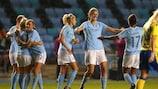 O Manchester City obteve a sua maior vitória europeia na Noruega