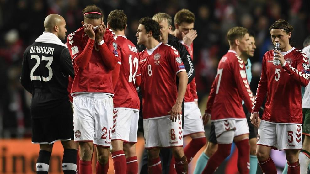 Denmark and Republic of Ireland drew 0-0 in the first leg of their tie