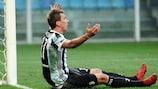 Mario Mandžukić shows his frustration during Juventus's loss at Sampdoria