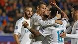 O Real Madrid venceu 6-0 em casa do APOEL e carimbou o passaporte para os oitavos-de-final