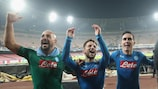 Napoli are still in contention in Group F