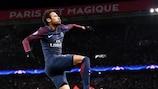Neymar totalizou 6 golos e 4 assistências pelo Paris na fase de grupos