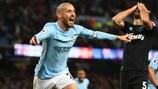 David Silva à nouveau buteur pour Man City, incontenstable leader de la Premier League