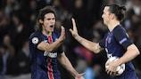 Edinson Cavani n'est plus qu'à trois buts du record de Zlatan Ibrahimović