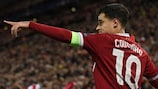 Philippe Coutinho traf dreimal für Liverpool