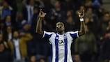 Vincent Aboubakar scored Porto's first in a 4-0 win