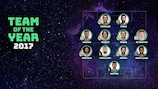 UEFA.com Fans' Team of the Year 2017 announced
