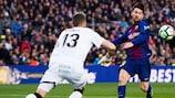Lionel Messi foi incapaz de levar o Barcelona até à vitória frente ao Getafe