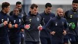 Porto training on Tuesday