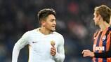 Cengiz Ünder hizo el gol de la Roma en la ida