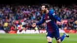 Lionel Messi ist derzeit erneut unter den besten Torschützen Europas