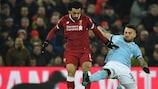 Salah et Liverpool avaient infligé leur première défaite en Premier League au City d'Otamendi en janvier à Anfield