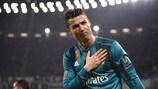 Cristiano Ronaldo nach seinem zweiten Tor bei Juventus