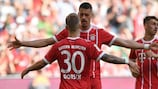 Sandro Wagner continued his good form in an impressive Bayern win