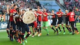 """""""Бавария"""" празднует очередной триумф"""