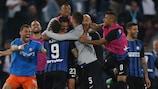 Inter feiert seine Rückkehr in die UEFA Champions League