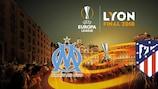 Marselha e Atlético Madrid vão lutar pela UEFA Europa League em Lyon