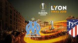Marseille will take on Atlético Madrid in Lyon
