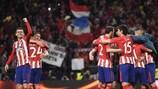 El Atlético, una piña hacia la final