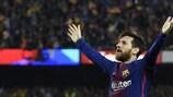 Lionel Messi ist Europas bester Torjäger