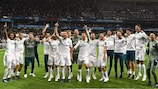 """""""Реал"""" отмечает очередную победу в финале Лиги чемпионов"""