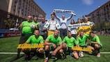 Vitali Klitschko apoya la campaña de #EqualGame en Kiev
