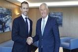 UEFA y Consejo de Europa firman un Memorándum de Entendimiento