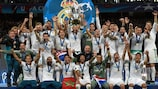 Real Madrid have the highest UEFA coefficient ever recorded