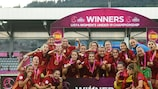 Espanha revalida título no EURO Feminino Sub-19: resumo