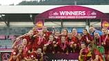 Spain win #WU19EURO: at a glance