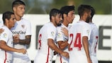 Five-time champions Sevilla impressed again in qualifying