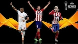 The 2017/18 UEFA Europa League Player of the Season nominees