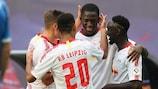 Leipzig machte den ersten Schritt Richtung Play-off-Runde