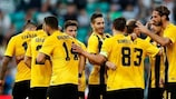 AEK Athens are in sight of a place in the group stage again