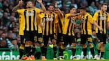 AEK Athens knocked out Celtic and Vidi to make it into the group stage