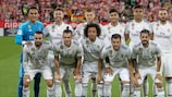 Real Madrid are looking for a fourth straight title