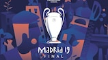 UEFA Champions League launches 2019 Madrid final identity
