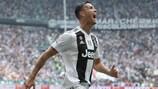 Cristiano Ronaldo bisou pela Juventus frente ao Sassuolo