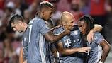 Bayern holte einen der vier Siege der Bundesligisten