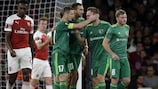 Vorskla scored twice at Arsenal on matchday one