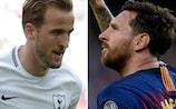 Harry Kane - Lionel Messi: Der direkte Vergleich