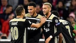 Noussair Mazraoui's goal gave Ajax a valuable point at Bayern