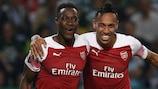 O Arsenal venceu o Sporting e isolou-se no topo do Grupo E