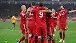 Bayern celebrate victory at AEK