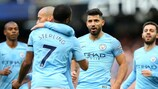 O Manchester City isolou-se no topo da Premier League inglesa