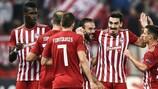 O Olympiacos de Pedro Martins fornece dois jogadores para a Equipa da Semana