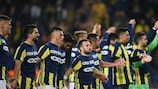 Fenerbahçe celebrate their matchday four victory